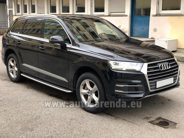 Rental Audi Q7 50 TDI Quattro 5-7 seats in Graz