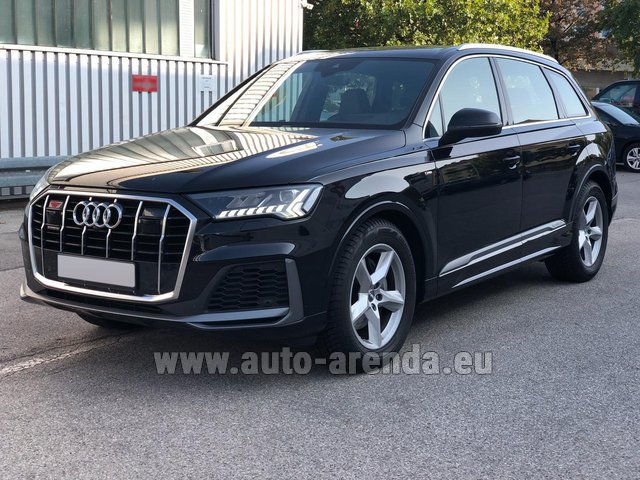 Прокат Ауди Q7 50 TDI Quattro Equipment S-Line (5 мест) в Австрии