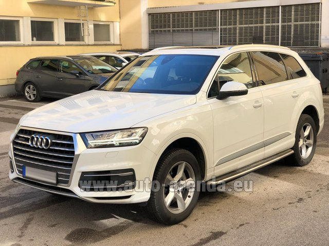 Rental Audi Q7 50 TDI Quattro White in Graz