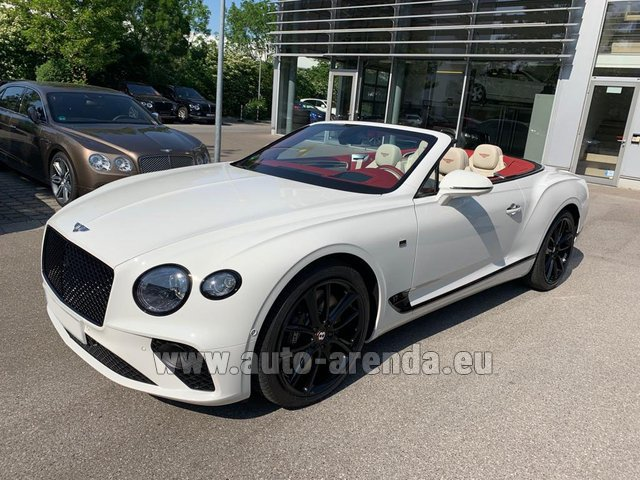 Rental Bentley GTC W12 First Edition 2019 in Linz