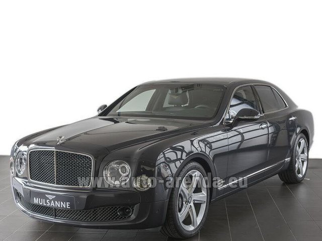 Rental Bentley Mulsanne Speed V12 in Innsbruck