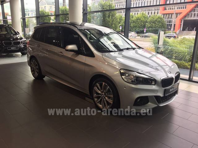Rental BMW 2 Gran Tourer Equipment M Sport in Linz