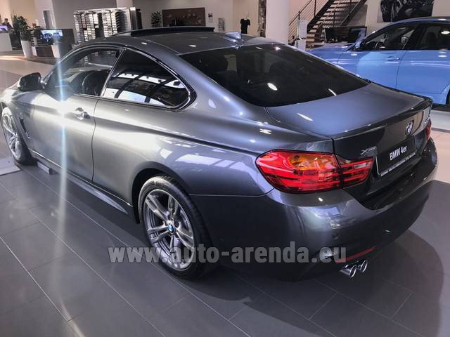 Rental BMW 420d xDrive Coupe M Sportpaket in Linz