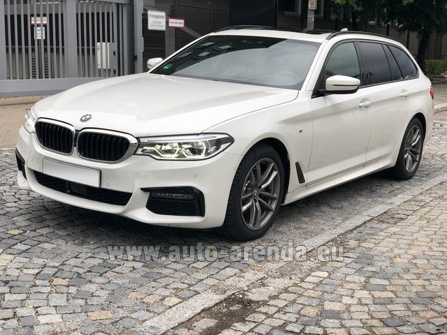 Rental BMW 520d xDrive Touring M equipment in Linz