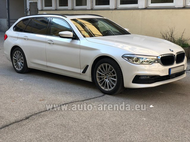 Rental BMW 5 Touring Equipment M Sportpaket in Linz