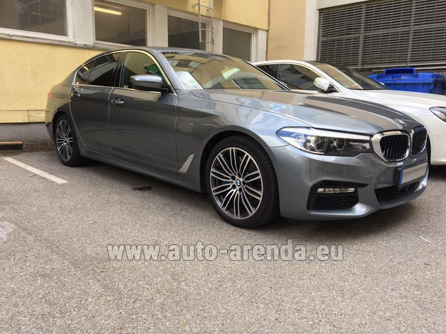 Rental BMW 540i M in Austria
