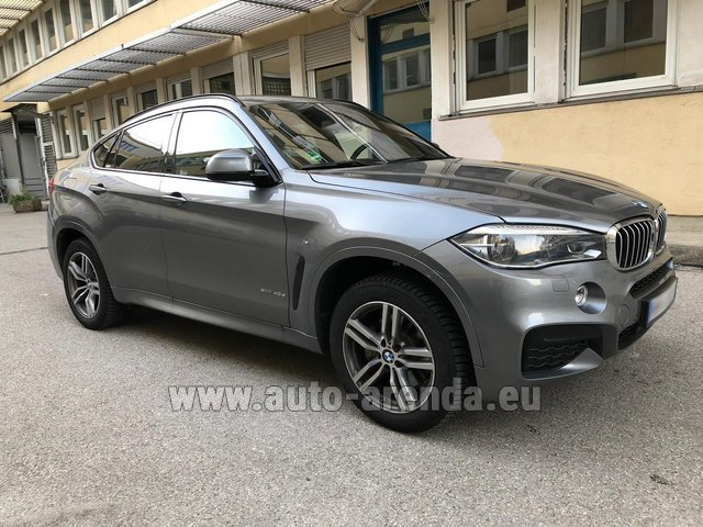 Rental BMW X6 4.0d xDrive High Executive M in Salzburg