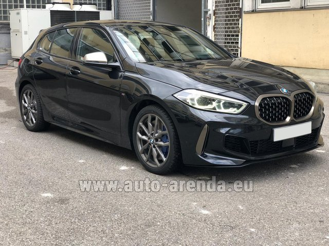 Rental BMW M135i XDrive in Linz