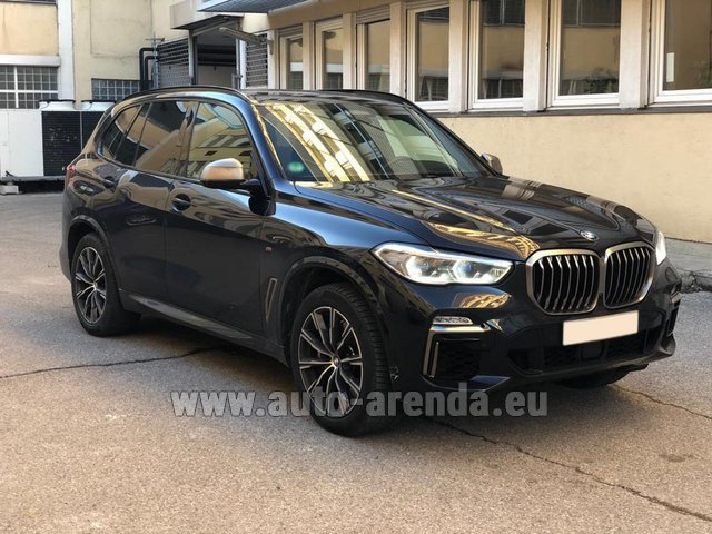 Rental BMW X5 M50d XDRIVE in Graz