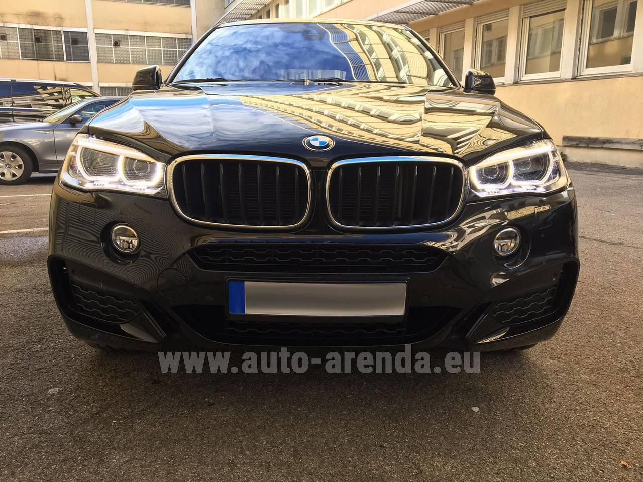 Rent Bmw X6 3 0d Xdrive High Executive M Sport In Salzburg