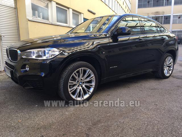 Прокат БМВ X6 3.0d xDrive High Executive M спорт пакет в Австрии