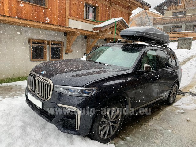 Transfer from Obertauern to Munich Airport by BMW X7 M50d (1+6 pax) car