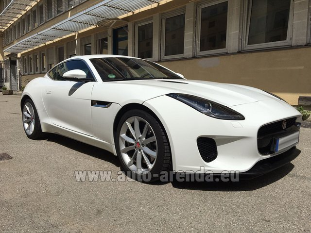 Rental Jaguar F-Type 3.0 Coupe in Austria