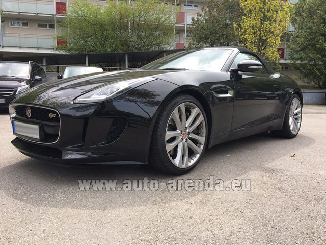 Rental Jaguar F Type 3.0L in Salzburg