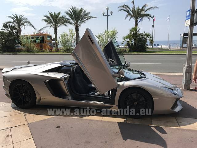 Hire and delivery to Vienna International Airport the car: Lamborghini Aventador LP 700-4