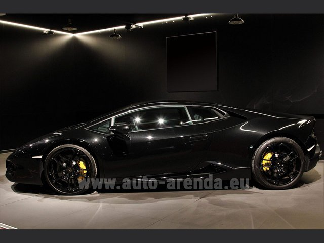 Rental Lamborghini Huracan LP580-2 Lifting System Giano 20 in Graz
