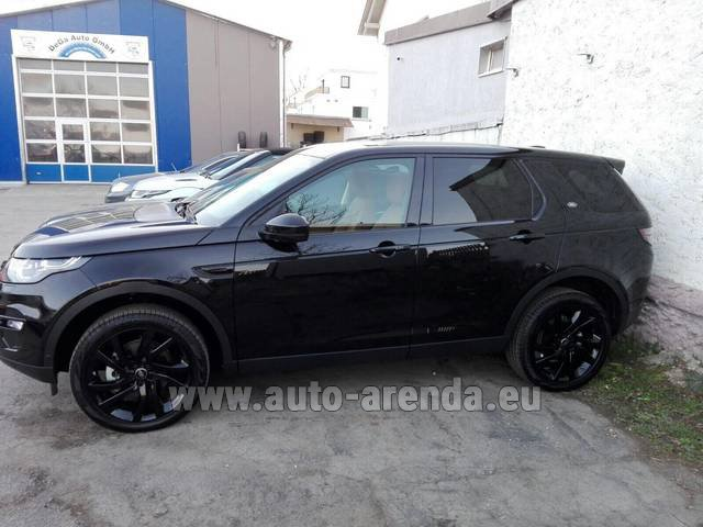 Rental Land Rover Discovery Sport HSE Luxury (5 Seats) in Salzburg