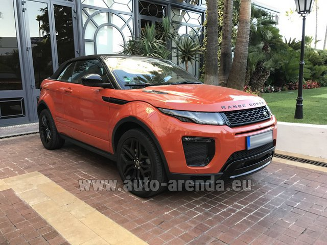 Rental Land Rover Range Rover Evoque HSE Cabrio SD4 in Graz