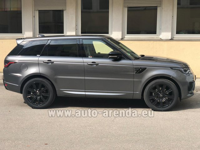 Hire and delivery to Vienna International Airport the car Land Rover Range Rover Sport SDV6 Panorama 22