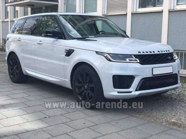 Rental Land Rover Range Rover Sport White in Graz