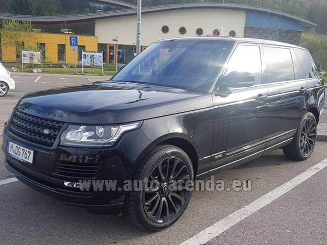 Rental Land Rover Range Super Charge 5.0L Long in Austria