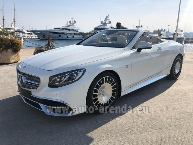 Прокат Maybach S 650 Cabriolet, 1 of 300 Limited Edition в Зальцбурге