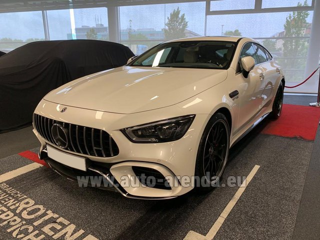 Rental Mercedes-Benz AMG GT 63 S 4-Door Coupe 4Matic+ in Graz