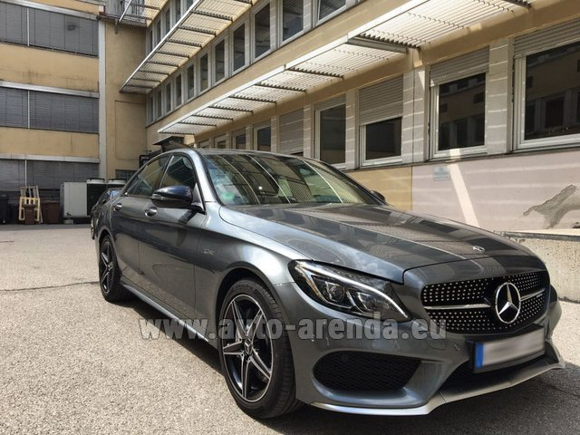 Rental Mercedes-Benz C-Class C43 AMG BITURBO 4Matic in Graz