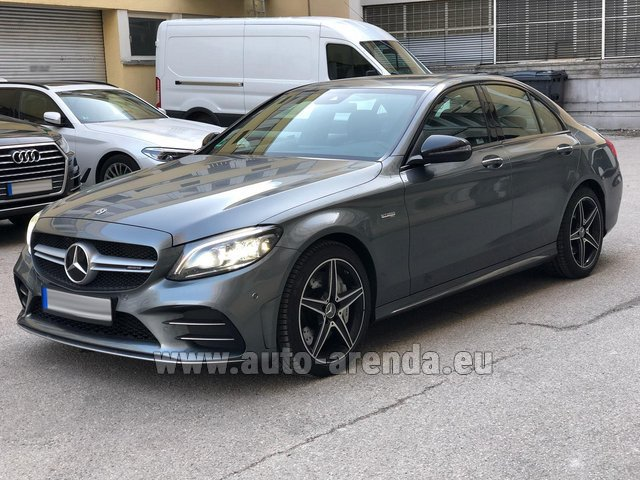 Rental Mercedes-Benz C-Class C43 BITURBO 4Matic AMG in Graz