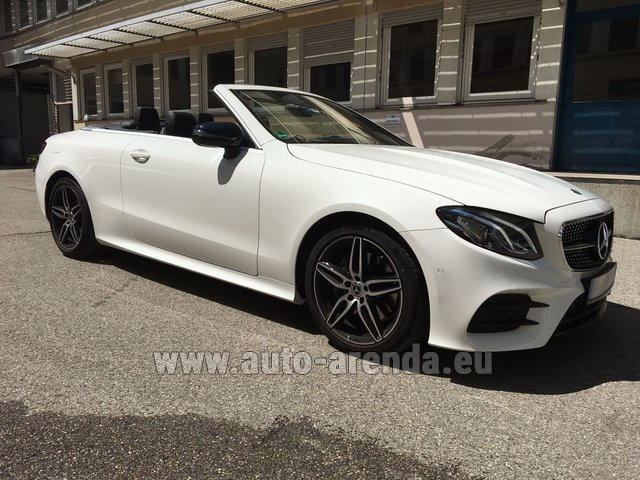 Rental Mercedes-Benz E-Class E 200 Cabrio in Austria