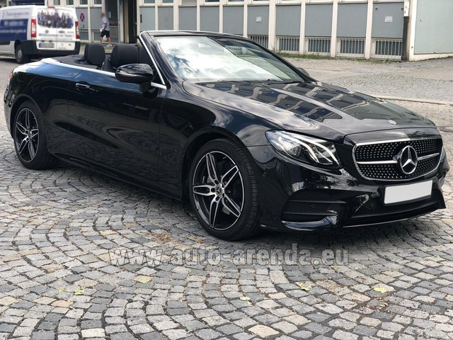 Rental Mercedes-Benz E-Class E200 Cabrio AMG equipment in Vienna