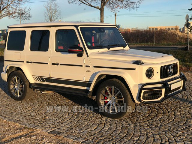 Rental Mercedes-Benz G 63 AMG White in Graz