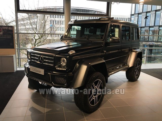 Rental Mercedes-Benz G-Class G 500 4x4² V8 in Graz