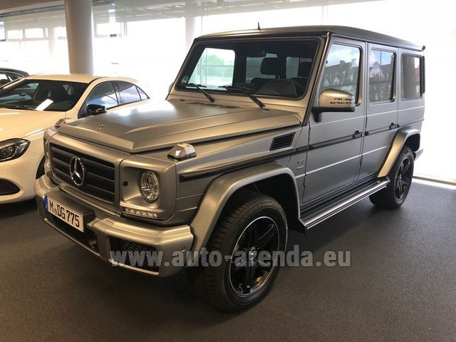 Rental Mercedes-Benz G-Class G 500 Limited Edition in Vienna