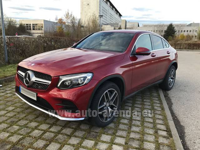 Rental Mercedes-Benz GLC Coupe in Vienna