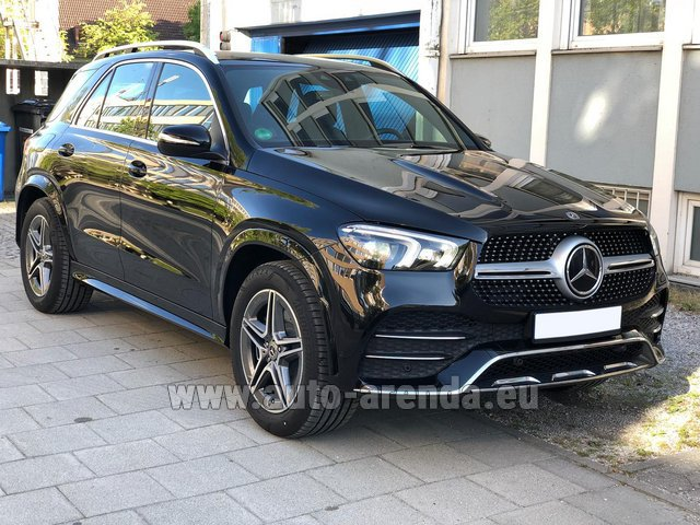 Прокат Мерседес-Бенц GLE 400 4Matic AMG комплектация в Австрии