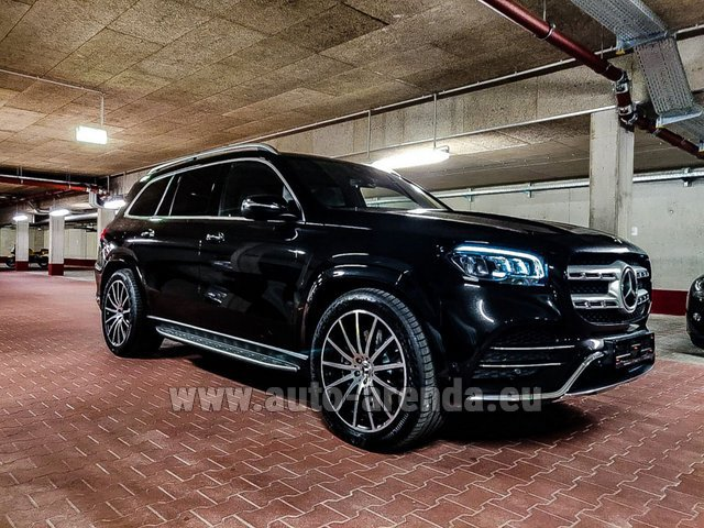Rental Mercedes-Benz GLS 400d 4MATIC BlueTEC equipment AMG in Vienna