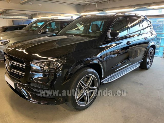 Rental Mercedes-Benz GLS 400d BlueTEC 4MATIC equipment AMG in Vienna