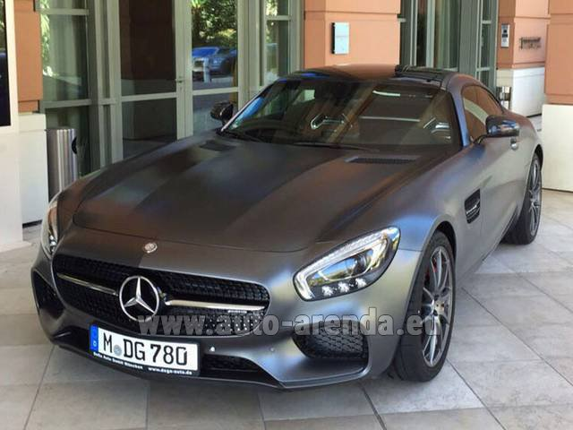 Rental Mercedes-Benz GT-S AMG in Salzburg