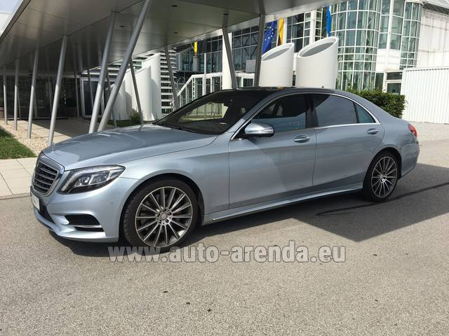 Rental Mercedes-Benz S 350 L BlueTEC 4MATIC AMG in Innsbruck