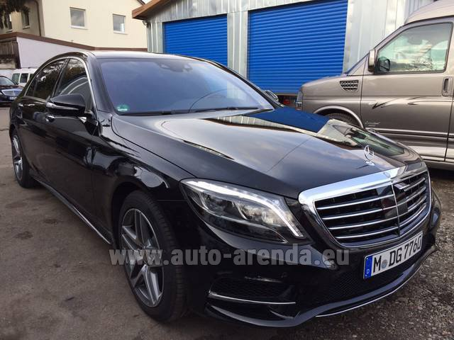 Rental Mercedes-Benz S 350 L BlueTEC AMG in Innsbruck