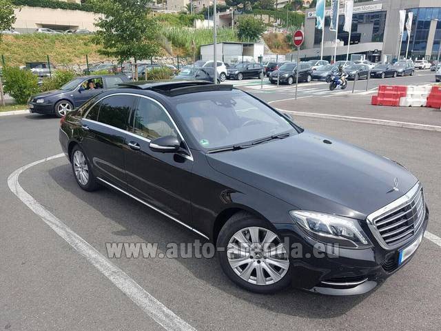 Rental Mercedes-Benz S 350 Long AMG in Innsbruck