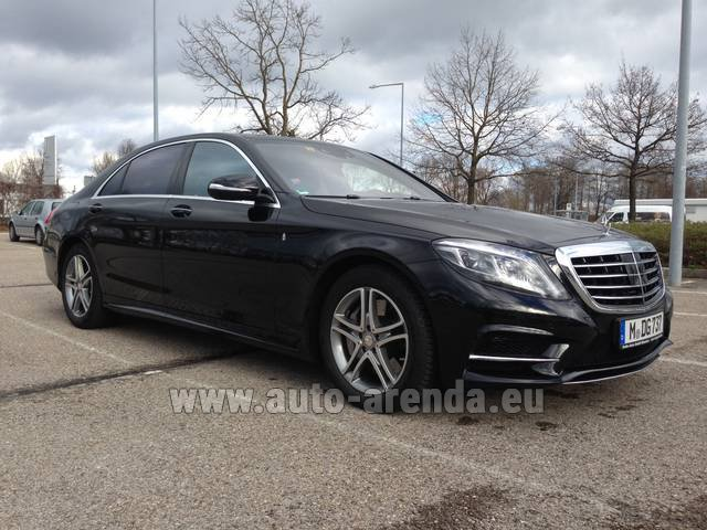 Трансфер из Вены в Мюнхен на автомобиле Mercedes-Benz S350 Long 4MATIC комплектация AMG