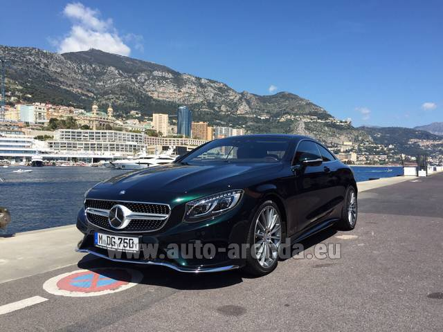Rental Mercedes-Benz S 500 Coupe 4Matic 7G-TRONIC AMG in Austria