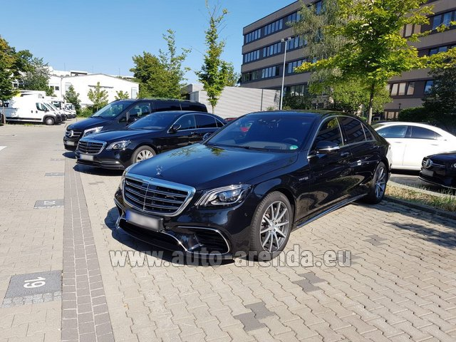 Rental Mercedes-Benz S 63 AMG Long in Graz