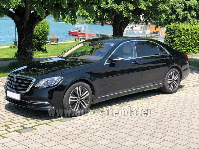 Rental Mercedes-Benz S-Class S400 Long 4Matic Diesel AMG equipment in Graz