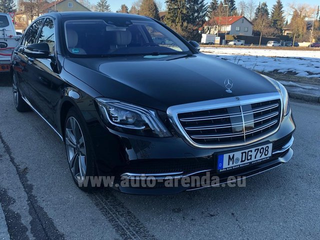 Rental Mercedes-Benz S-Class S400 Long Diesel 4Matic AMG equipment in Austria