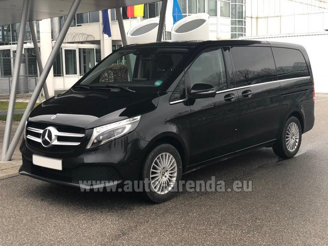 Transfer from Galtur to Munich Airport General Aviation Terminal GAT by Mercedes VIP V250 4MATIC AMG equipment (1+6 Pax) car