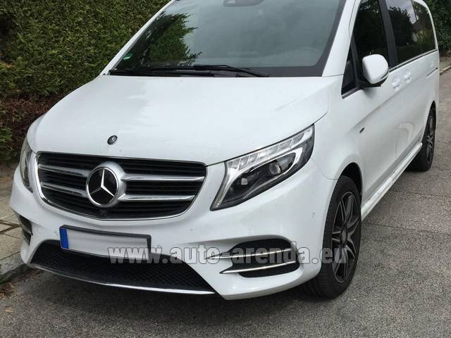 Rental Mercedes-Benz V-Class (Viano) V 250 D 4Matic AMG Equipment in Innsbruck