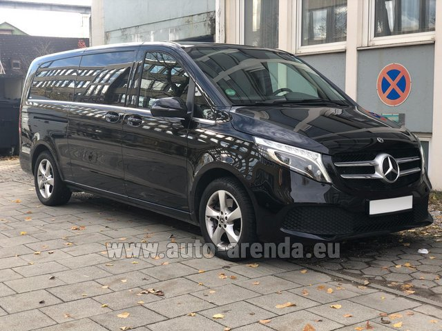 Hire and delivery to Vienna International Airport the car Mercedes-Benz V-Class V 250 Diesel Long (8 seater)